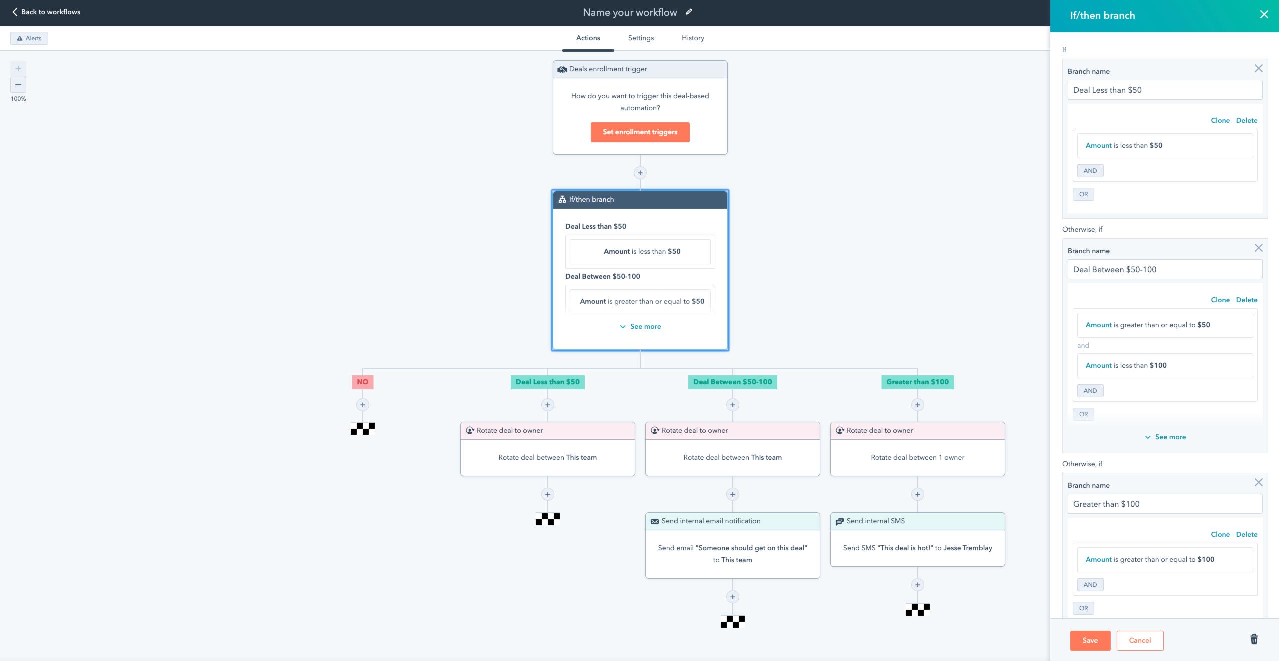 Workflow Branch