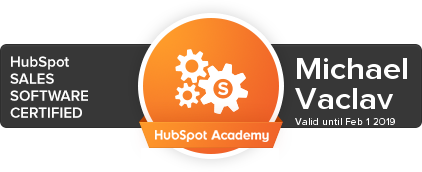 HubSpot Sales Software Badge