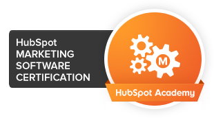 HubSpot Marketing Software zertifiziert