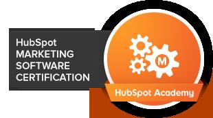 HubSpot Marketing Software zertifiziert