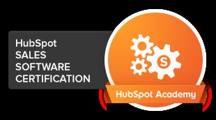 HubSpot Sales Software zertifiziert